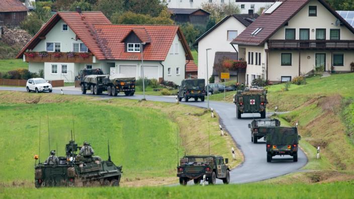 Bürgermeister von Grafenwöhr glaubt nicht an Truppenabzug