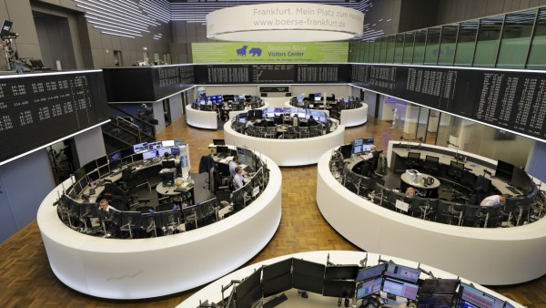 First Day of 2020 Trading on Germany's DAX