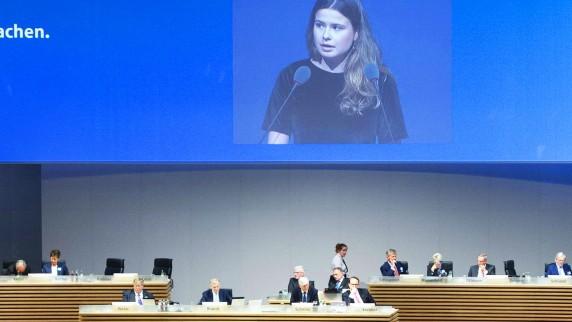 Rede von Luisa NEUBAUER Aktivistin der Bewegung ãFridays for FutureÒ Hauptversammlung der RWE AG a