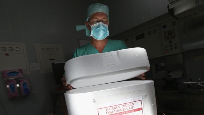 Organspende: Transportbox für Organe