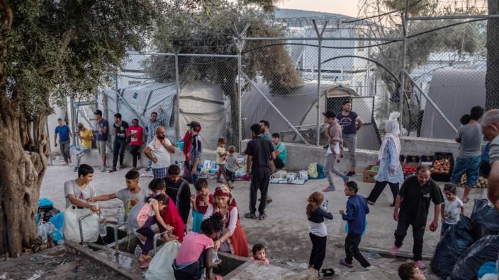 Habeck will Kinder aus griechischen Flüchtlingslagern holen