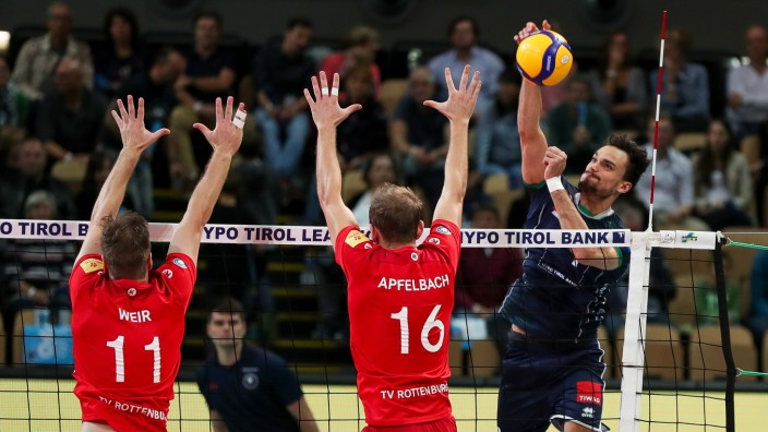 VOLLEYBALL - DVV Pokal, AlpenVolleys vs Rottenburg INNSBRUCK,AUSTRIA,02.NOV.19 - VOLLEYBALL - DVV Pokal, Hypo Tirol Alpe; imago44187434h