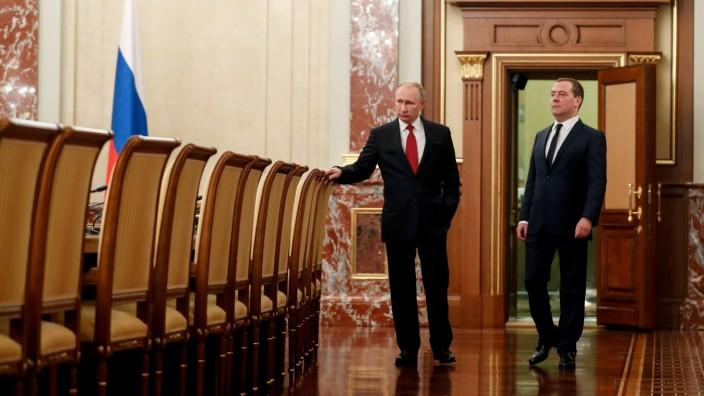 Russland: Wladimir Putin und Dmitrij Medwedjew