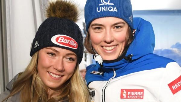 Ski alpin: Weltcup Slalom der Damen