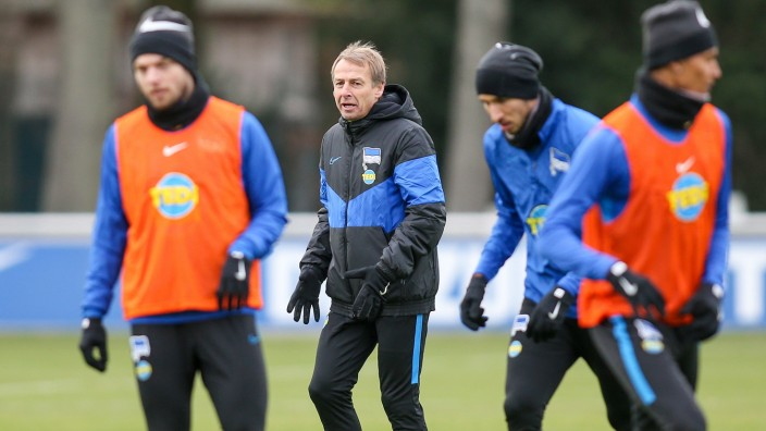 Training Hertha BSC