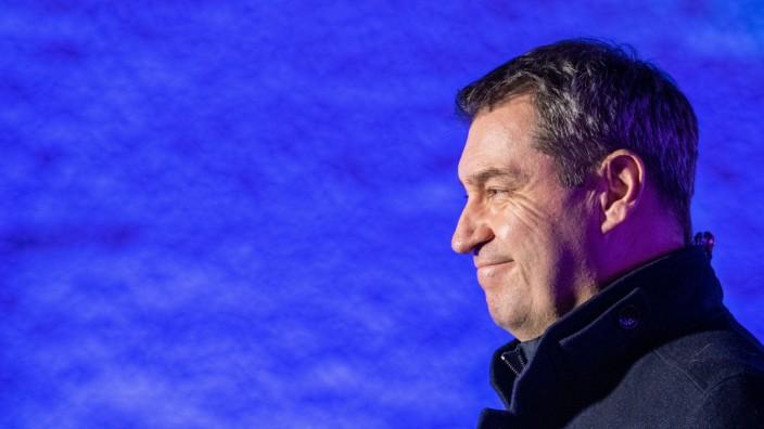 Markus Söder Klausurtagung der CSU-Landtagsfraktion