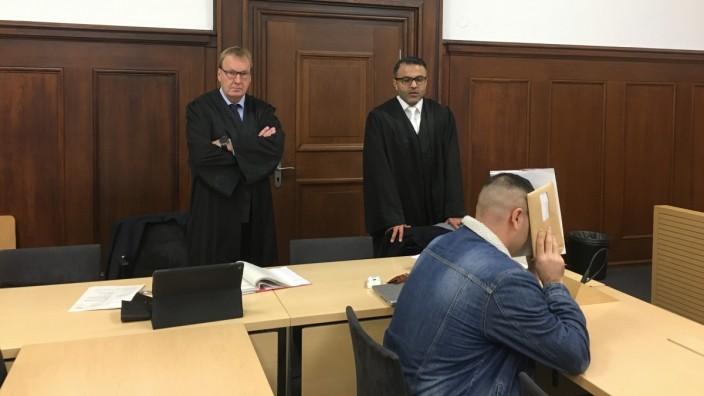 Auftakt im Prozess um das Anheuern eines Killers in Nürnberg.