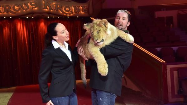 Circus Krone: Jana Lacey-Krone und Martin Lacey