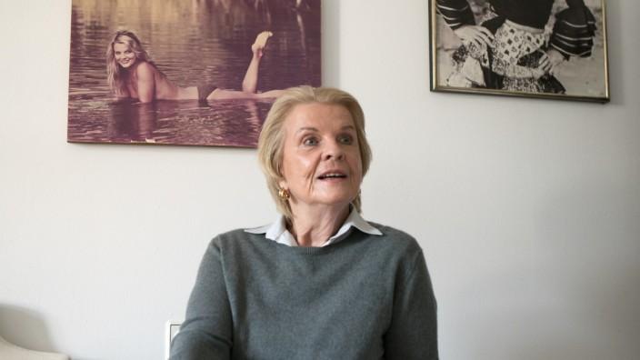 Gisela Hahn in ihrer Wohnung in der Augustenstraße 52