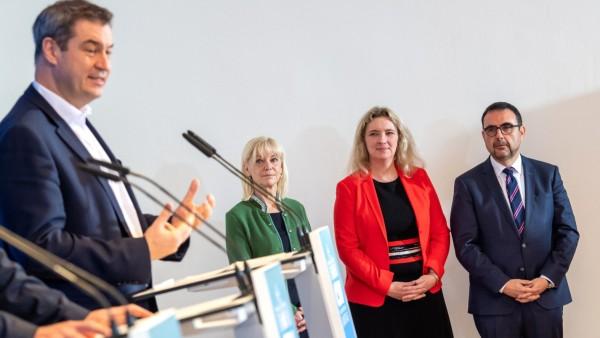 Abschluss Klausurtagung CSU-Landtagsfraktion