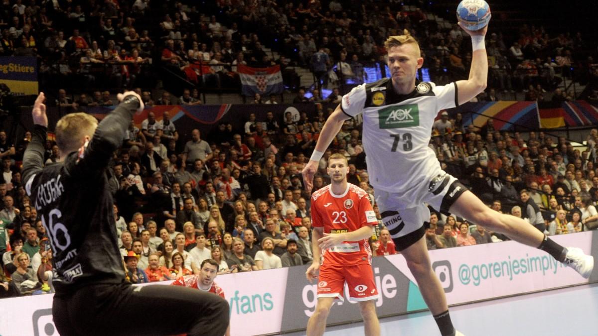 Handball European Championship Convincing Victory Against