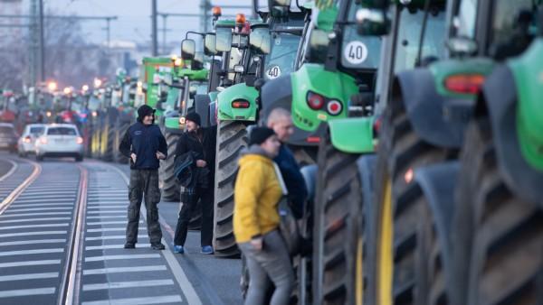 Bauernproteste  - Dresden