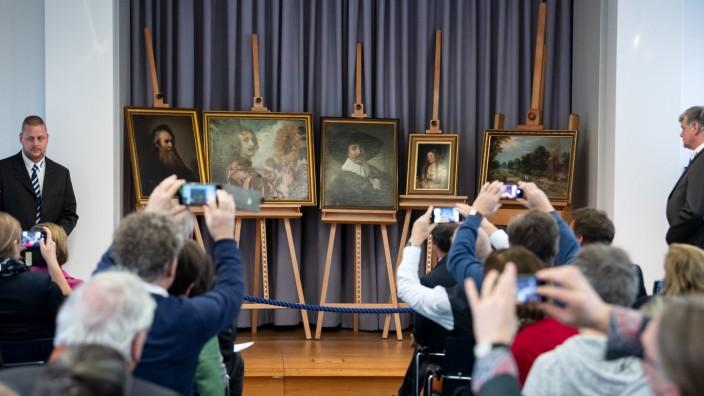 1979 gestohlene Gemälde kommen zurück nach Gotha