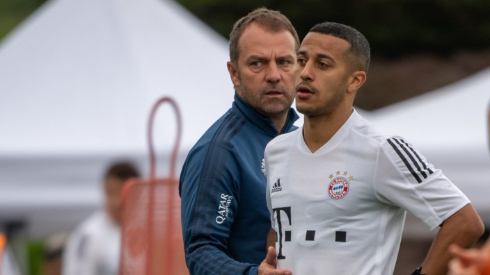 Trainingslager FC Bayern München in Doha
