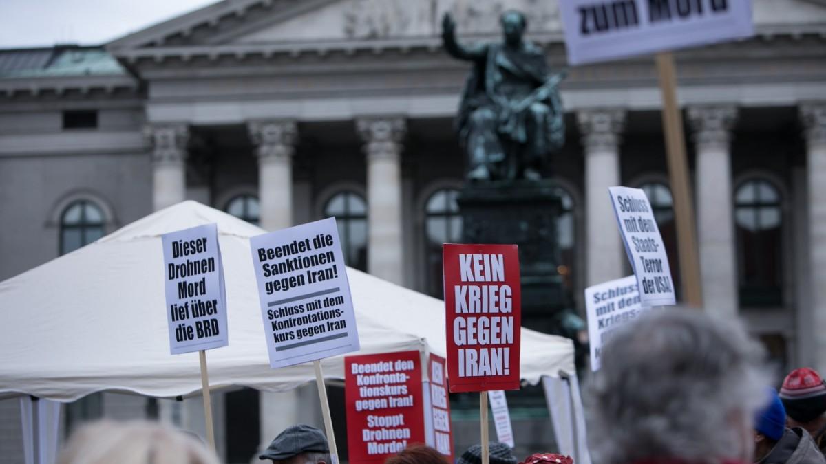 München: Mehrere Demos zwischen Uni und Oper