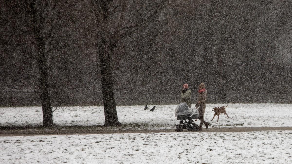 München: So viele Worte gibt es für Schnee