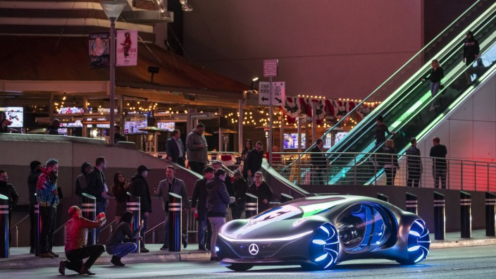 Technik-Messe CES - Mercedes-Benz  Vision AVTR