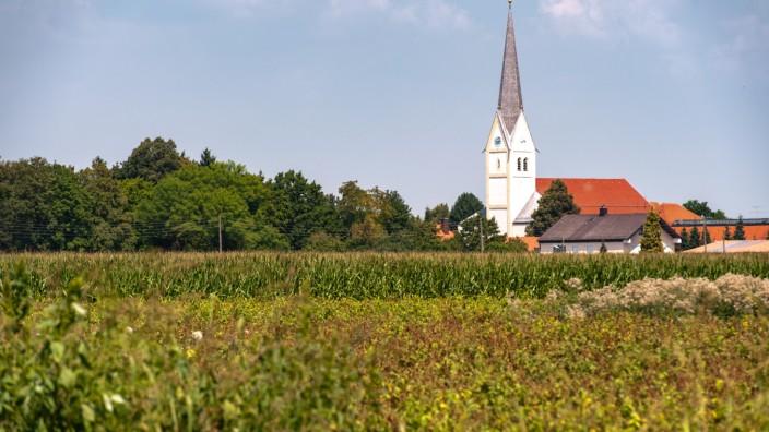 Umgebung am nördlichen Stadtrand von München, 2018