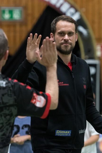Handball, 3. Liga, Saison 2019/2020, TuS Fürstenfeldbruck - HC Erlangen II Im Bild Co-Trainer des TuS Fürstenfeldbruck M