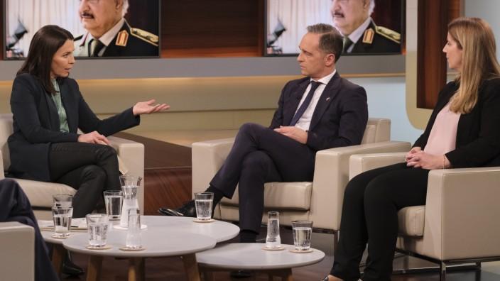 """Anne Will: Heiko Maas zu Gast zum Thema """"Libyen"""""""
