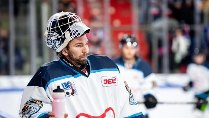 Sebastian Vogl (25, Straubing Tiger ), Thomas Sabo Ice Tigers Nuernberg vs. Straubing Tigers, Eishockey, DEL, 11.10.2019