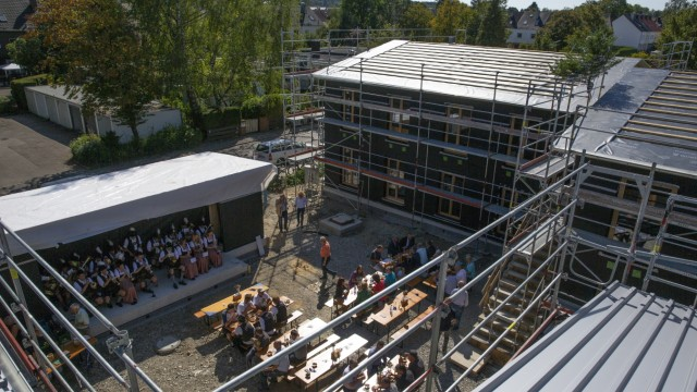 Richtfest Baustelle Puchheim