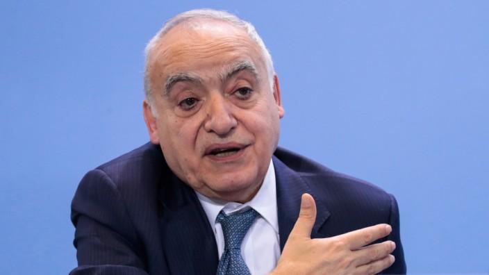 UN-Sonderbeauftragte Salame gegen Friedenstruppe für Libyen