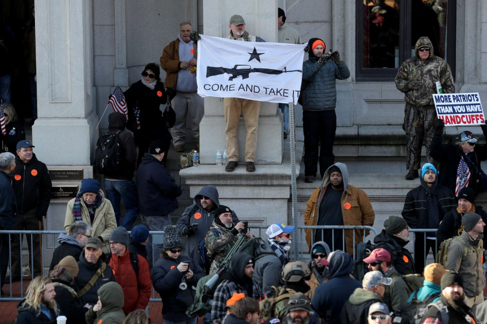 Gun Rights Advocates From Across U.S. Rally In Virginia's Capital Against Gun Control Legislation