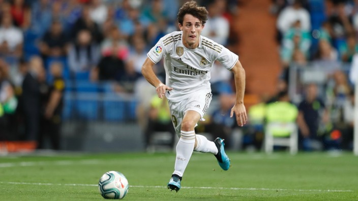 Alvaro Odriozola (Real), SEPTEMBER 25, 2019 - Football / Soccer : Spanish La Liga Santander match between Real Madrid CF; Alvaro Odriozola von Real Madrid
