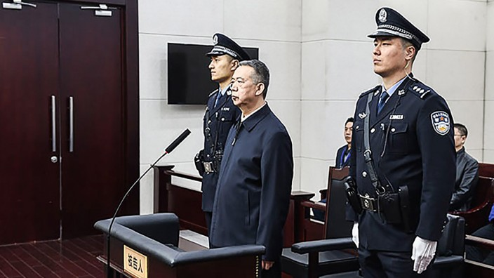 China: Ex-Interpol-Chef Meng Hongwei vor Gericht