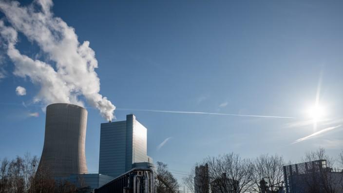 Kohlekraftwerk Datteln 4 in Nordrhein-Westfalen