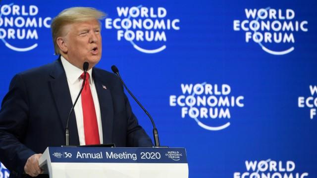 Trump Davos WEF
