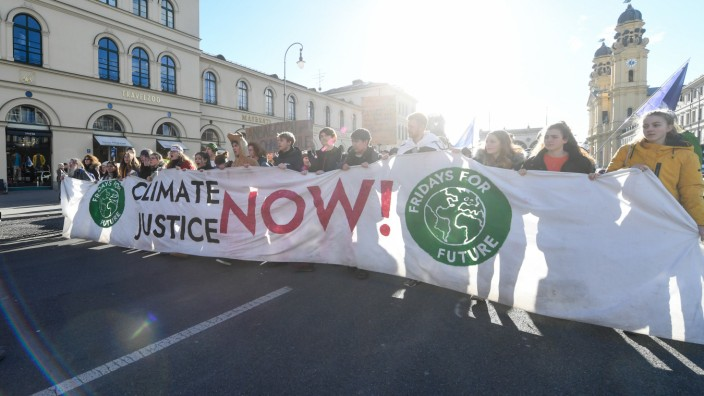 Demo Fridays for Future in München