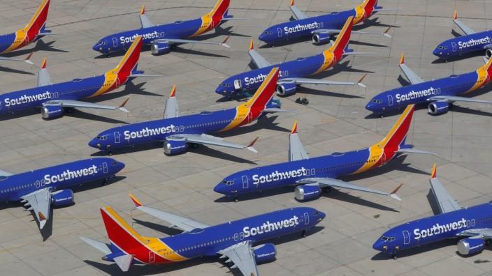 US-Medien: Boeing rechnet mit 737-Max-Flugverbot bis Sommer