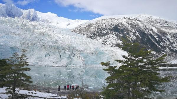 Chile Patagonien Südamerika Fjorde Gletscher Schiffsreise Kreuzfahrt Schiff