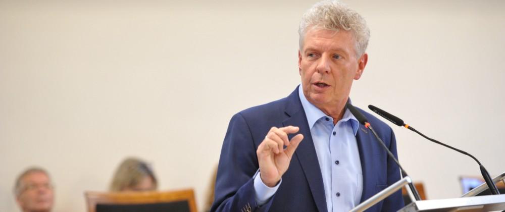 Dieter Reiter bei Haushaltsdebatte im Münchner Stadtrat, 2019