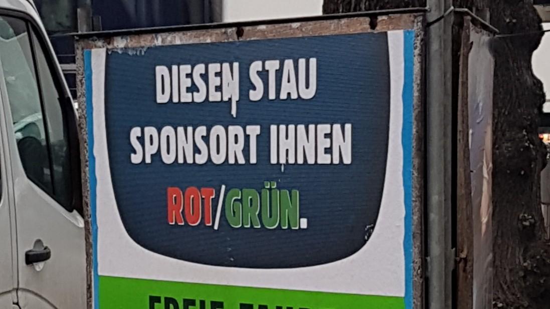 Wahlkampf in München - CSU wirbt mit Zielen von 1996
