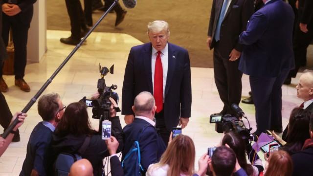 WEF 2020: Donald Trump auf dem Weltwirtschaftsforum
