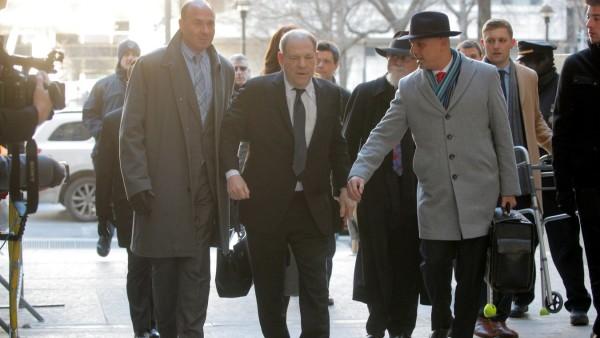 Weinstein's sexual assault trial in New York