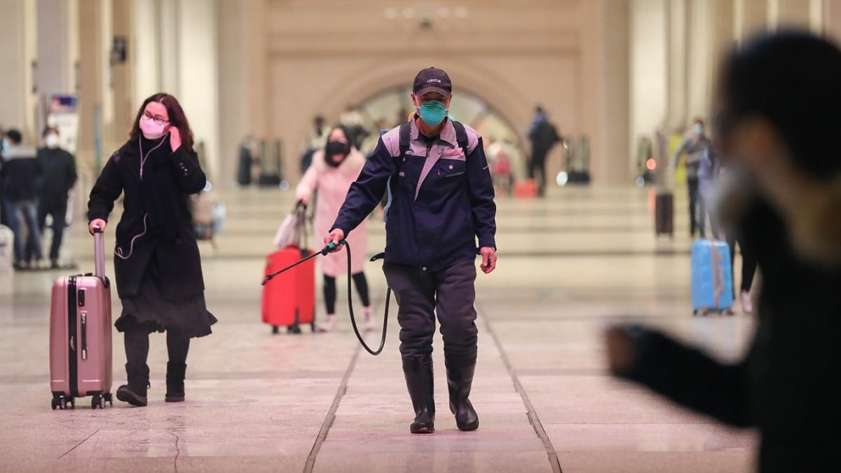 Coronavirus: China kappt alle Verbindungen nach Wuhan