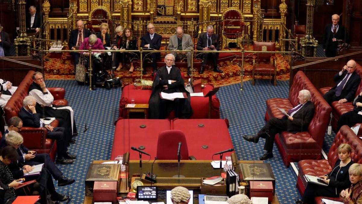Großbritannien - Brexit-Gesetz nimmt letzte große Hürde