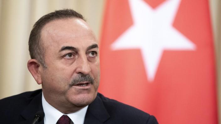 Türkei: Außenminister Mevlut Cavusoglu 2020 in Moskau