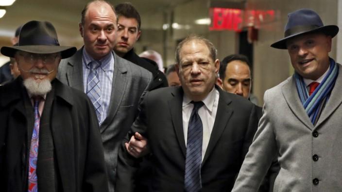 Harvey Weinstein zum Prozessauftakt in New York