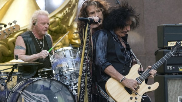 Steven Tyler, Joe Perry, Joey Kramer