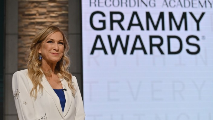 Grammy chief suspended days before awards gala