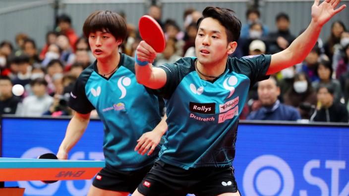ä¸0 éâÄÖ¨èƪa¹³/Kohei Sambe & aäa·ç ~aüº/Mizuki Oikawa, JANUARY 18, 2020 - Table tennis, Tischtennis : All Japan Table Te; imago46149228h