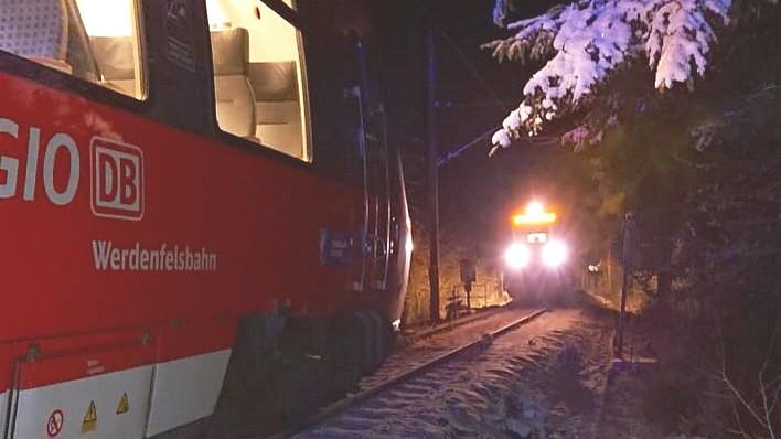 Garmisch-Partenkirchen: Lokführer verhindert Zugunglück