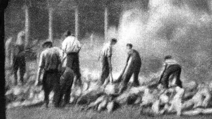 KZ-Häftlinge in Auschwitz