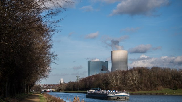 Datteln 4 New Coal-Fired Power Station At Center Of Government Coal Negotiations