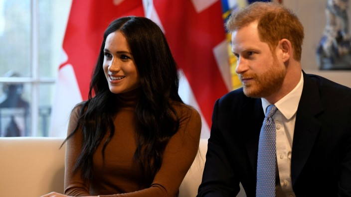 FILE PHOTO: The Duke and Duchess of Sussex visit Canada House